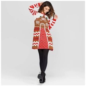 Christmas Ugly sweater dress 31 1/2 inches